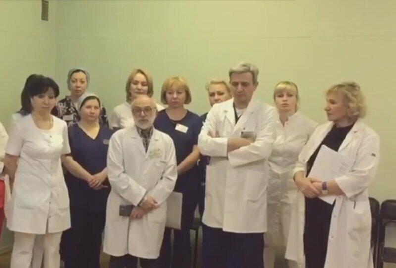 Увольнение врачей уже в Москве