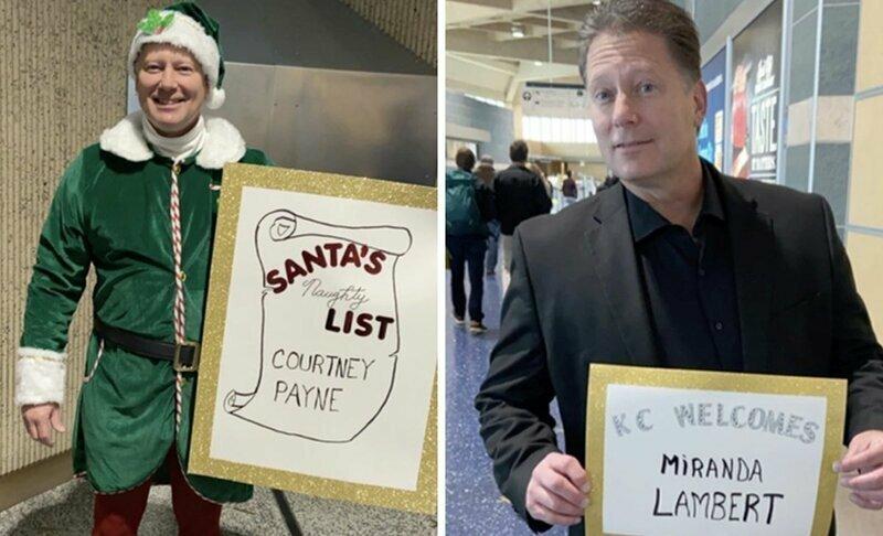Мужчина устраивает маскарад каждый раз, когда встречает свою дочь в аэропорту