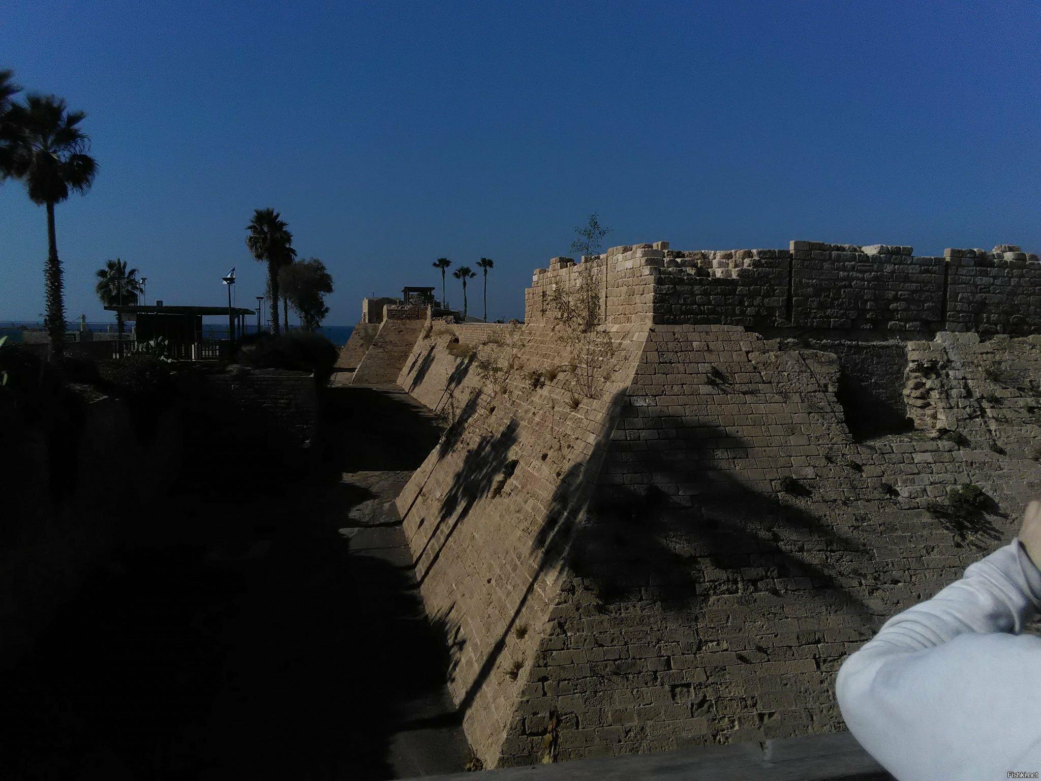 Римские руины в Кесарии