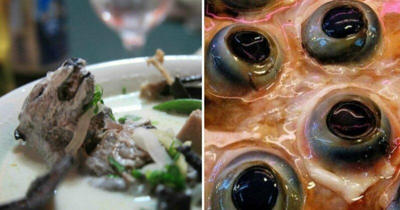 Неприятного аппетита: шокирующие блюда со всей планеты