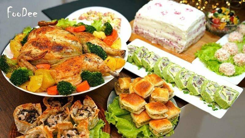 Новогодний стол за 2 часа - 8 блюд для тех, кто не хочет встретить Новый Год на кухне