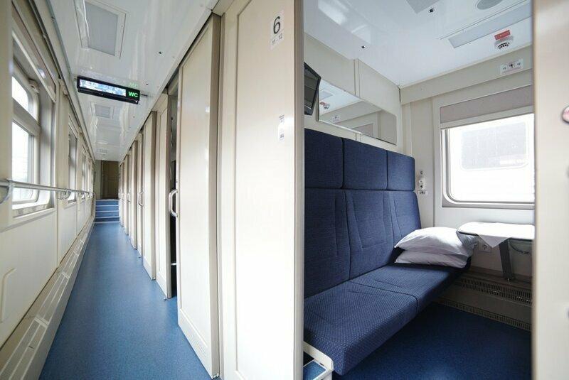Поезд «Таврия» Москва-Симферополь отправился сегодня из Москвы в Крым