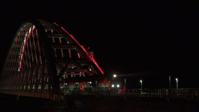 Поезд №7 «Таврия» Санкт-Петербург-Севастополь впервые прошёл по Крымскому Мосту