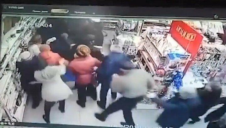 Жители Башкирии устроили потасовку за скидочные телевизоры