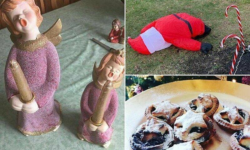 Забавные и неловкие рождественские провалы: когда кое-что пошло не так