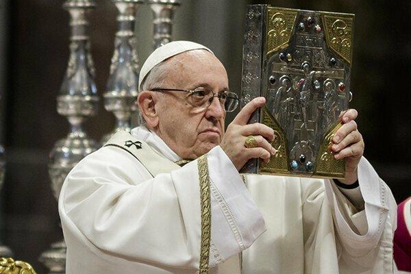 Папа Римский призвал Украинцев вернуться к Свету