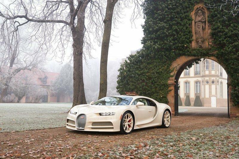 Эксклюзивный Bugatti Chiron, созданный в сотрудничестве с модным домом Hermes