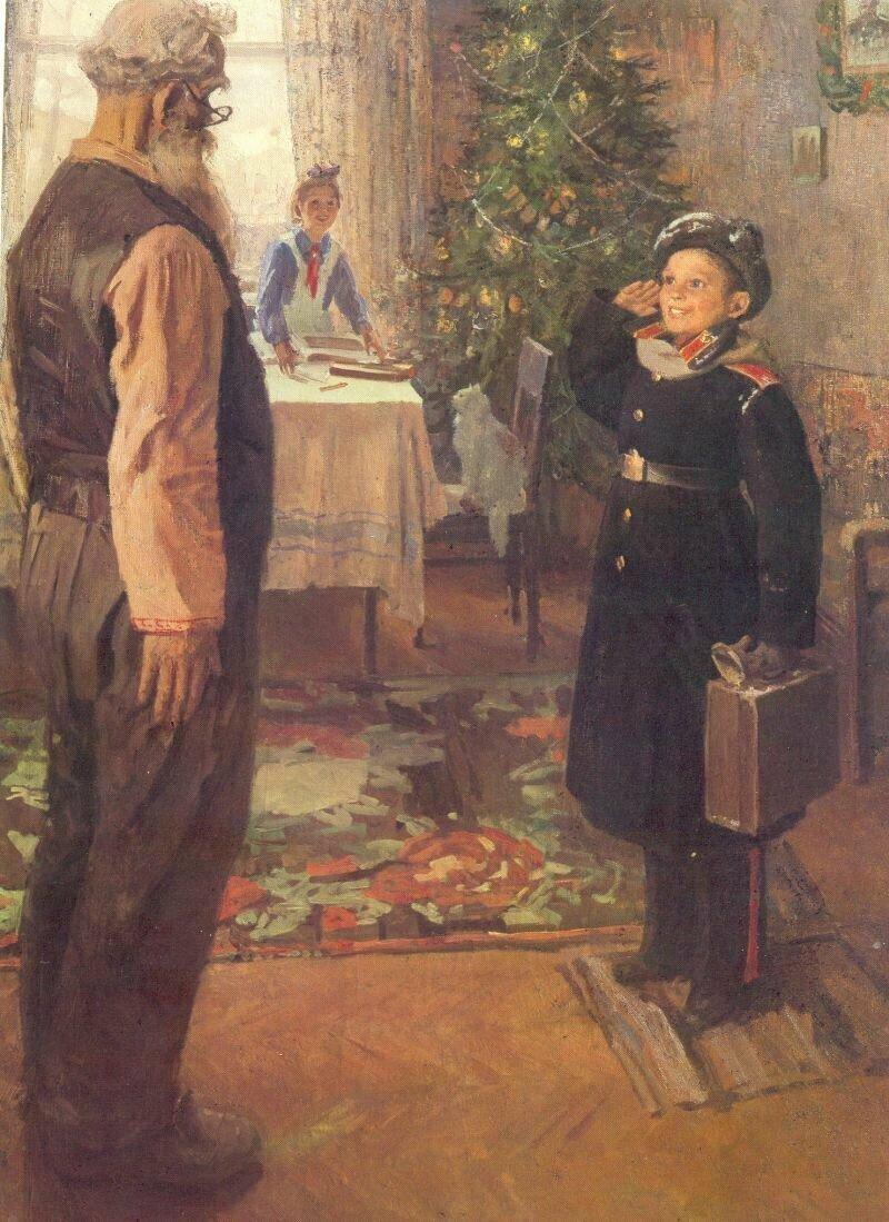 Приключения советской новогодней картины с котиком
