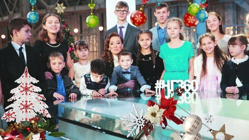 """""""Научись творить добро!"""" Новогоднее поздравление от детей-сирот Подмосковья!"""