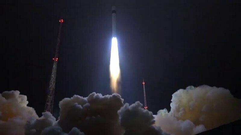 Красивые кадры запуска ракеты-носителя «Рокот» с космодрома Плесецк