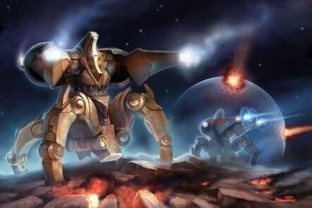 Эпическая дуэль в StarCraft 2. До последнего минерала