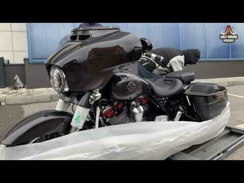 Распаковка нового Harley-Davidson CVO Limited 2020 Smoky Gray