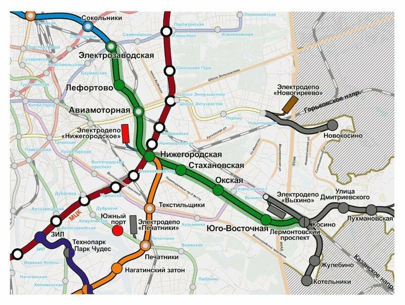 В Москве появится 6 новых станций метро. Как они будут выглядеть?