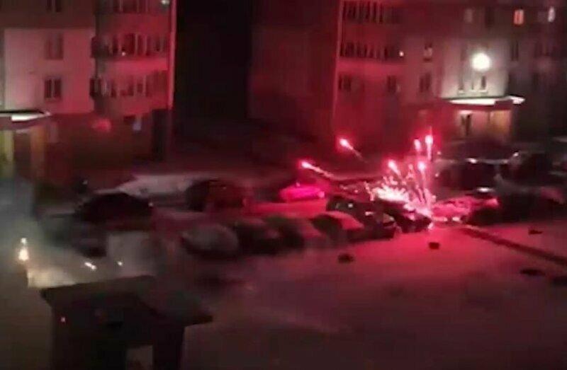 Попытка жителя Курска запустить салют обернулась ракетным обстрелом двора