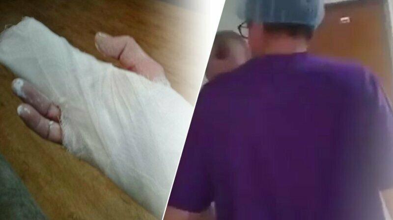 Стоматолог в Уссурийске избил женщину с ребёнком и сломал ей пальцы