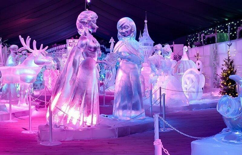 Как возникла традиция создавать ледяные скульптуры?
