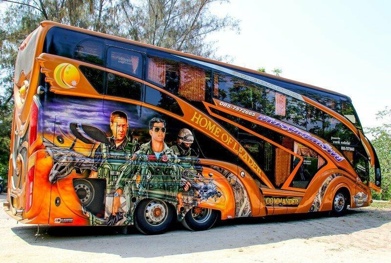 Тайский тюнинг-2. И снова про автобусы
