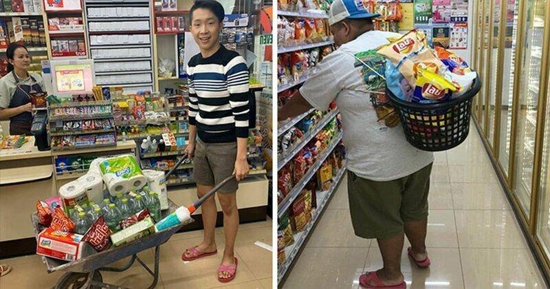 Магазины Таиланда начали отказываться от пластиковых пакетов