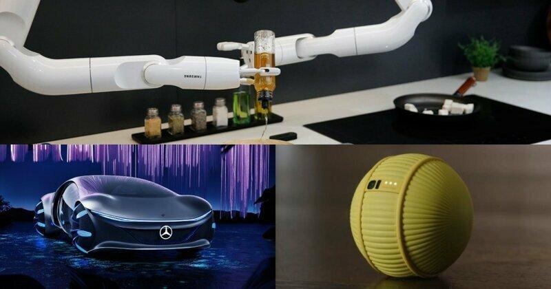 Бионический автомобиль, умная картошка, дроид-дворецкий и другие новинки выставки CES 2020