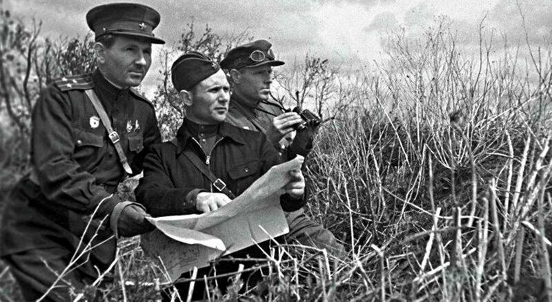 Играй, гармонь: советские разведчики против гармонистов вермахта