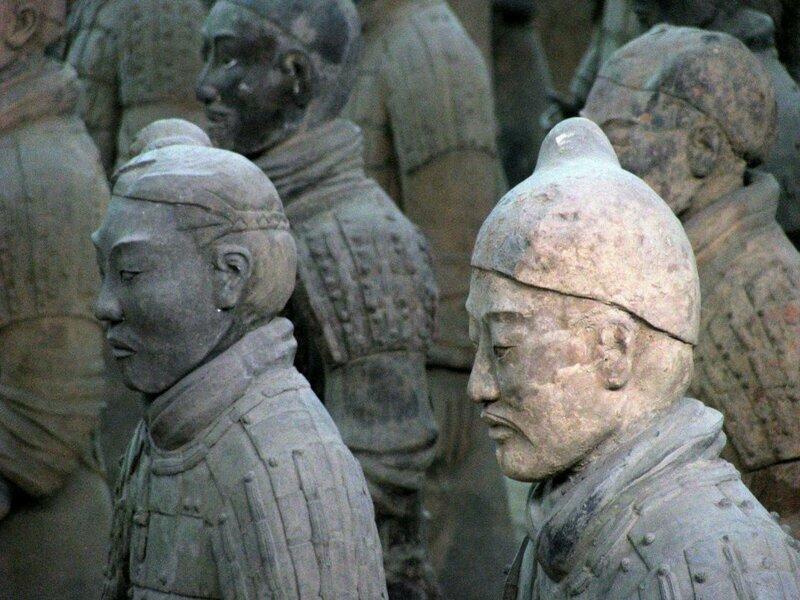 Китайским археологам открылись ещё 200 терракотовых воинов