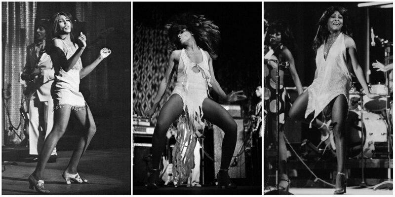 20 потрясающих черно-белых фотографий Тины Тернер на сцене