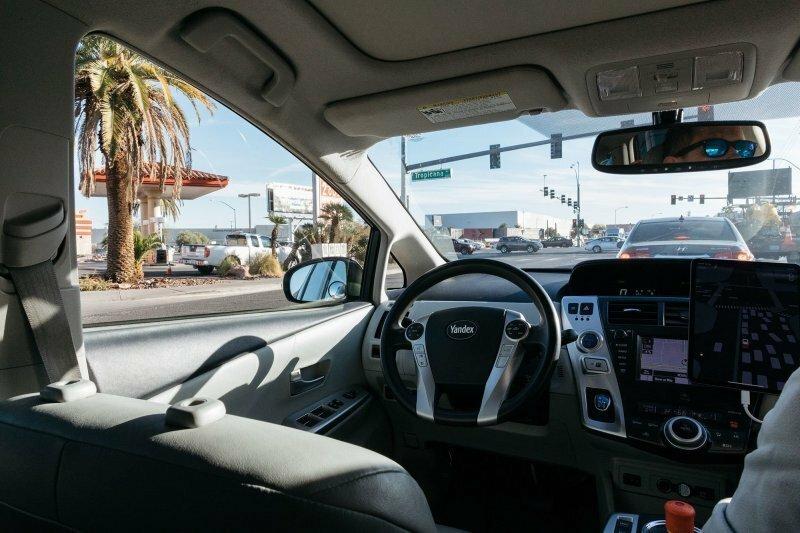Российские беспилотные такси испытали на дорогах Лас-Вегаса