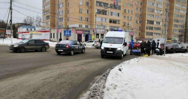 ДТП на глазах у росгвардейцев: во Владимирской области сбили мальчика