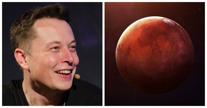 Илон Маск планирует в 2050 году перевезти миллион человек на Марс