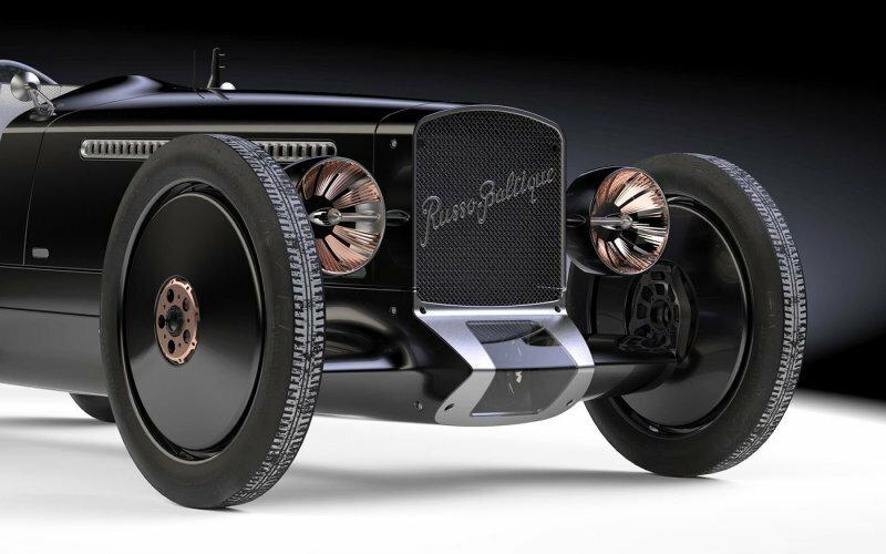 """""""Руссо-Балт"""" Andrey Nagel 108 — ретро-футуристический автомобиль для установления наземного рекорда скорости"""
