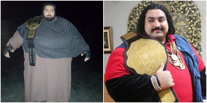 «Пакистанский Халк» весом 440 килограмм ищет совершенно особенную жену