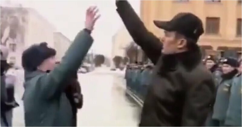 Глава Чувашской Республики вынудил начальника пожарной части подпрыгивать за ключами