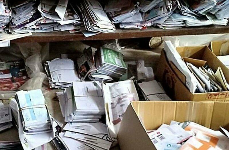 В доме японского почтальона обнаружили около 24 000 недоставленных писем