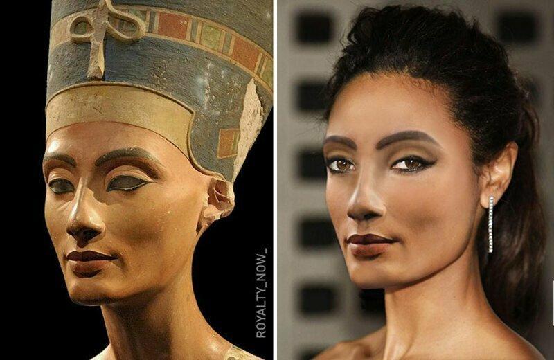 Цезарь, Нефертити и другие: как выглядели бы известные люди прошлого сегодня