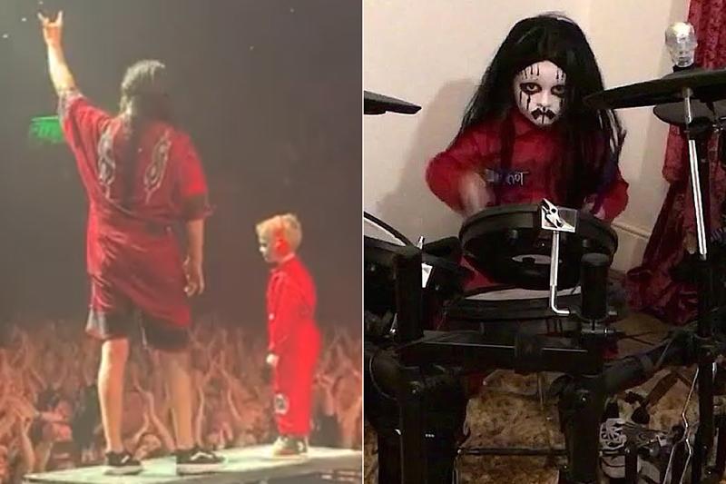 5-летний мальчик зажег на концерте Slipknot и прославился