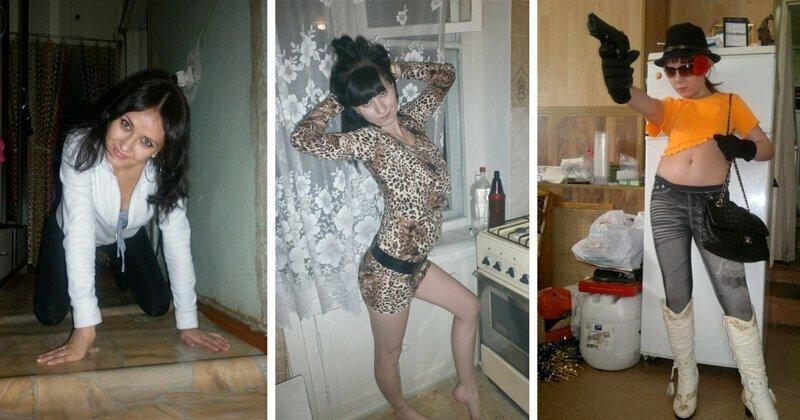 Домашние фотосессии простушек, кадры с которых были выложены в интернет их бывшими подругами