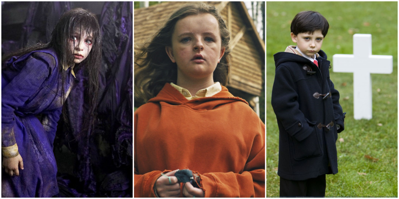 10 жутких детей из фильмов ужасов, которые уже не пугают