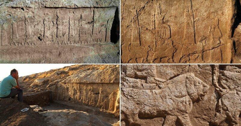 В Ираке найдены древние ассирийские барельефы, чудом уцелевшие при ИГИЛ