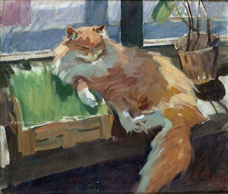 Кошки в советском искусстве