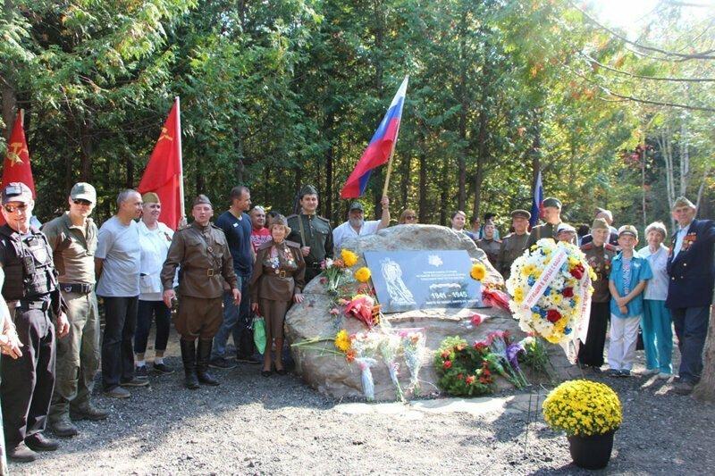 B Канаде открыли памятник Советским солдатам
