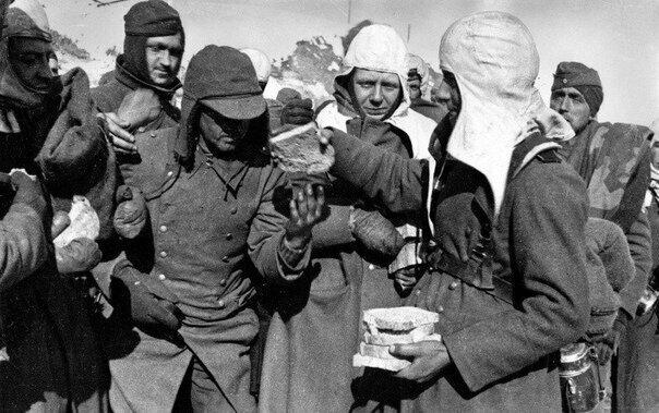 Немцы в Сталинграде