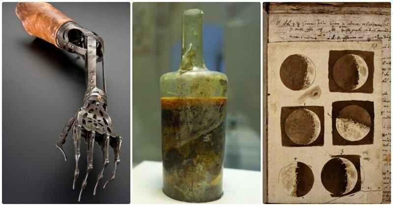 Удивительные артефакты, о существовании которых многие даже не подозревали до этого дня