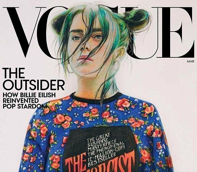 Как рисунок девятиклассницы из российской глубинки попал на обложку Vogue