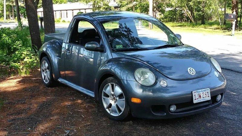 Теперь любой желающий может превратить свой VW Beetle в очаровательный пикап