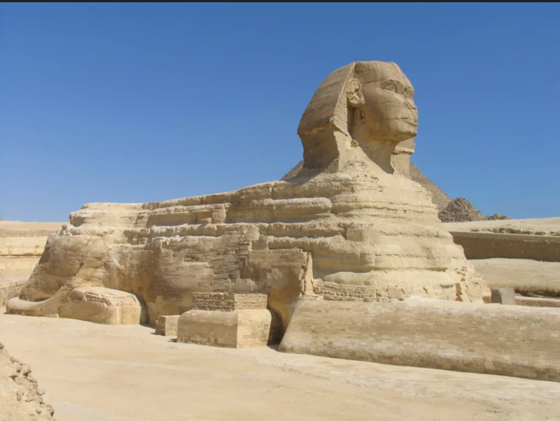 Сфинкс в Египте не совсем сфинкс