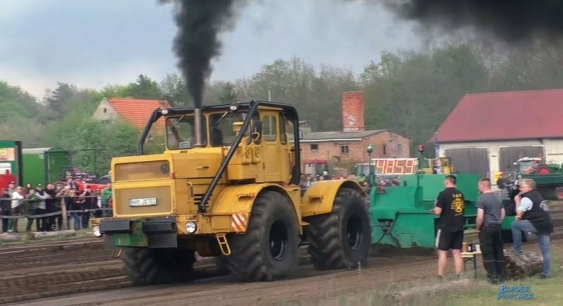 Советский «Кировец» против иностранных тракторов