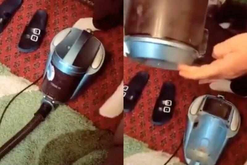"""""""Что-то пылесос забился!"""": подругу девушки изумила причина отказа бытовой техники"""