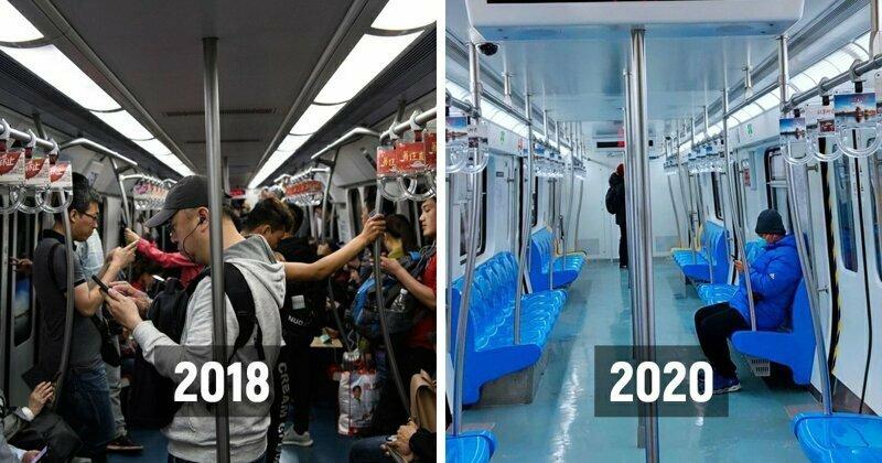 Китайские супермаркеты, рестораны и аэропорты опустели  из-за вспышки коронавируса