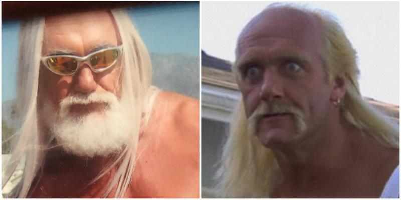 Халк Хоган был похож на Гэндальфа до того, как сбрил бороду