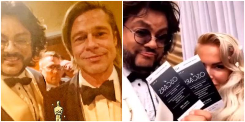 На церемонии «Оскар» ДиКаприо скрылся от Киркорова
